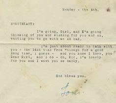1929 love letter