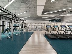 After years of experience in designing fitness centers for private clients, we finally have the opportunity to show a project of our own.