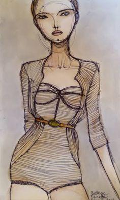 Camila Cerda Illustration: Bottega Veneta