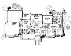 2542 sq ft ~ love where the utility room is with a link to master closet.