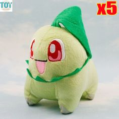 Find More Movies & TV Information about New 5pcs Chikorita Soft Stuffed Animal Plush Toys Collectible Figure Japanese Animation Doll 14cm Retail Anime Brinquedos,High Quality toys hasbro,China doll toy sex Suppliers, Cheap toy stages from Toys in the Kingdom on Aliexpress.com
