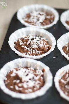 Muffin cocco e cioccolato - www.goodfoodlab.it