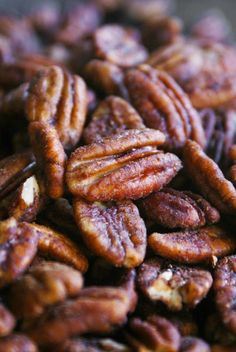 Savory Spiced Nuts - mild with this version  Double the spices for a kicked up version.