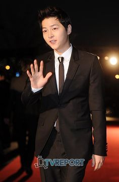Song Joong Ki at K-Drama Star Awards