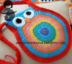 Resultado de imagen para bolsos cruzados tejidos a crochet patrones