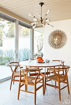 Rebecca Minkoff  Mid Century  Modern Apartment  Apartments Captivating Danish Modern Dining Room Review