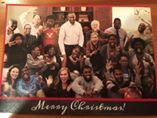 'Wonderful card from our Downtown Young Life crew!'