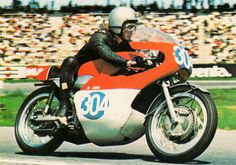 Little Bill Ivy the Maidstone flyer. Having left Yamaha Bill tried Formula 2 (Braham) but then joined Jawa-CZ. He diid following a testing accident as he adjusted his helmet strap with his clutch hand, just when the engine seized.