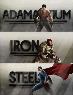 Men of steel and more