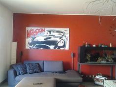 Eva kant e diabolik's Car #home #art #paint