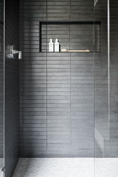 Swan Lake House: The Casual Bonus Rooms - interior bath - bathrooms ideas Bathroom Tile Designs, Bathroom Renos, Bathroom Interior Design, Small Bathroom, Master Bathroom, Bathroom Ideas, Modern Bathrooms, Washroom, Lowes Bathroom