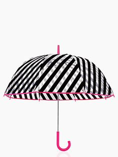 umbrella - Bold patterned mini umbrellas could be cool! It would be important to have pretty good quality though since umbrellas break often