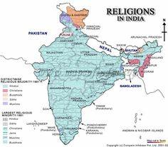 India Religion Map