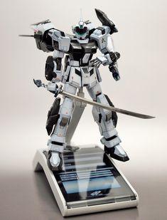 GUNDAM GUY: 1/144 RK-80PR-BR Pale Rider Byaku-Rai - Customized Build