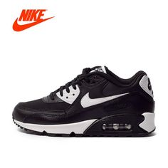 Authentic NIKE AIR MAX 90 ESSENTIAL Breathable Women's Running Shoes Sneakers