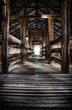 """""""Kinchega Woolshed"""" I love this photograph of an Australian wool shed. S"""