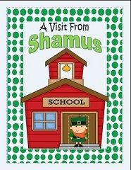 St Patricks day activity for teachers.. let Shamus visit your classroom!
