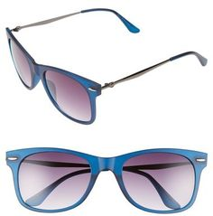 Topman 54mm Retro Sunglasses