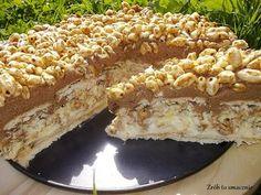 Do zrobienia tego ciasta zamierzałam się już bardzo dawno, aż w końcu się zmobilizowałam i zrealizowałam swój plan :) I teraz żałuję, że nie...