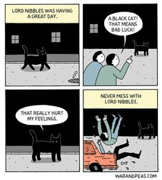 """20 Awesomely Sardonic Comics From War And Peas - Funny memes that """"GET IT"""" and want you to too. Get the latest funniest memes and keep up what is going on in the meme-o-sphere. Dark Humor Comics, Funny Comics, Cat Comics, Funny Cats, Funny Jokes, Hilarious, 4 Panel Life, Funny Comic Strips, Online Comics"""