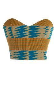 African Print Corset