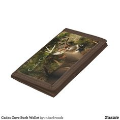 Cades Cove Buck Wallet