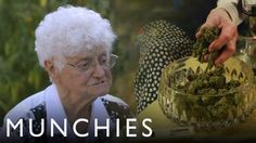 """The inaugural episode of the Munchies series """"Bong Appetit"""" features Aurora Liveroni aka Nonna Marijuana, a 91-year old woman living somewhere in Northern California who, along with her daughter Va..."""
