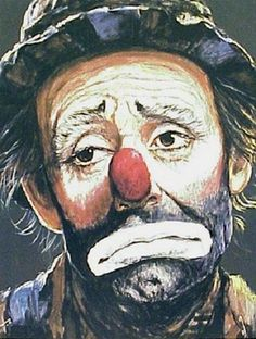 Image detail for -Emmett Kelly Clown Circus Poster by B Leighton Jones Circus Poster, Circus Art, Circus Clown, Circus Theme, Emmett Kelly Clown, Clown Pics, Clown Paintings, Vintage Clown, Vintage Carnival