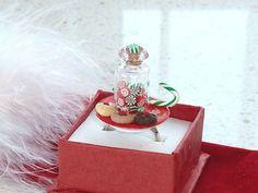 Kawaii Ring  A Christmas Plate with a Jar by OishisoBitsAndBites, $14.00