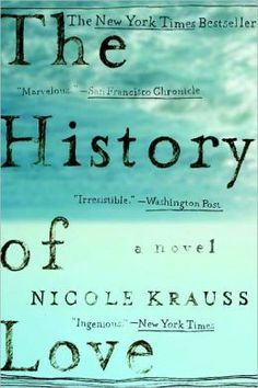 to read - The History of Love // 25 Books to Help You Survive Your Mid-20s
