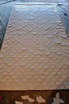 Dois trinta e cinco Designs: Peixe Escala arte da parede
