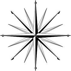 Wind Rose Compass Rose clip art - vector clip art online, royalty free & public domain