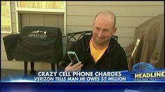 Couple Get 2 Million Dollar Verizon Phone Bill – May Lose Dream Home