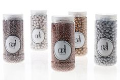 Accent Decor - Clay Pebbles, 24 oz. Pearl White