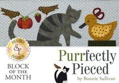Purrfectly pieced Bonnie Sullivan - Google zoeken