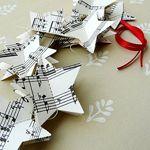 Music paper stars