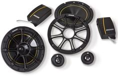 "2) NEW KICKER DS652 6.5"" 240W 2-Way 4-Ohm Car Audio Component Speakers 11DS652. NEW PAIR of KICKER DS652 6.5"" 240W 2-Way 4-Ohm Car Audio Component Speakers. MAX Power Handling: 120 Watts per Speaker (240 Watts per Pair). RMS Power Handling: 60 Watts per Speaker (120 Watts per Pair). Heavy-duty motor structure for improved performance. Extended Voice Coil (EVCT) woofer technology for ultra-clean bass."