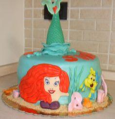 I miei hobby: Torta Ariel