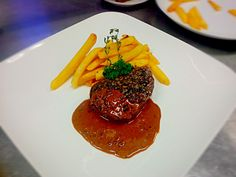 Tenderloin Steak Au Proivre