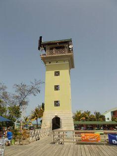 Torre de observacion en la Guancha de Ponce Puerto Rico