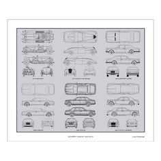 "Rolls Royce Blueprint Collection $27.99 Product Details — Printed On Premium Acid-Free Paper  — Sized For A Standard 20"" X 24"" Frame  — Delivered Rolled In A Protective Tube  Materials Acid Free Art Paper Measurements20""L x 24""W Origin United States"