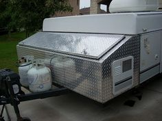 This would be awesome! & Metal Trailer Battery/propane Box | storage boxes and 10lb. propane ...