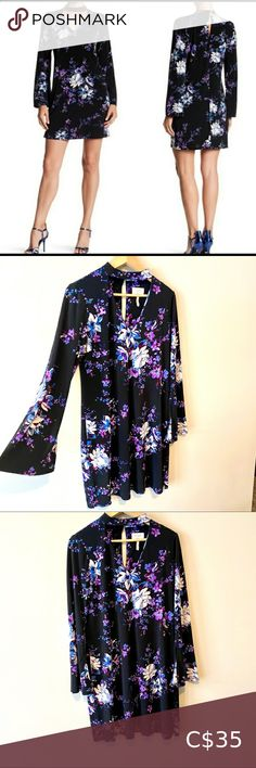 I just added this listing on Poshmark: Laundry by Shelli Segal floral bell sleeve dress. #shopmycloset #poshmark #fashion #shopping #style #forsale #Laundry By Shelli Segal #Dresses & Skirts