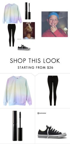 """Meeting Jacob Sartorius"" by sara-joleen ❤ liked on Polyvore featuring Current/Elliott, Surratt, Burton and Converse"