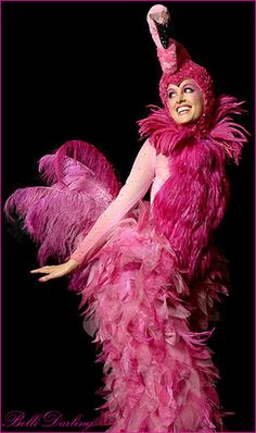I want to be a flamingo, how can I make it look like this! amazing!