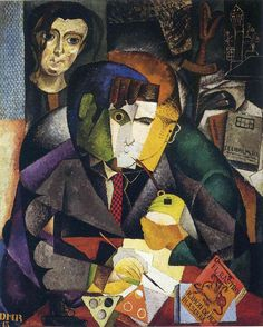Portrait of Ramon Gomez de la Serna - Diego Rivera - 1915
