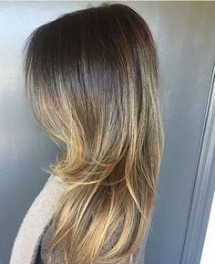 Melted Brunette to Bronde. Color by @amandageorgehair  #hair #hairenvy #hairstyles #haircolor #brunette #bronde #balayge #highlights #newandnow #inspiration #maneinterest