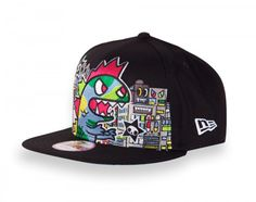 17cb0d9bb99 Add some style to your wardrobe with tokidoki TKDK snapback hats! Their  criminally cute