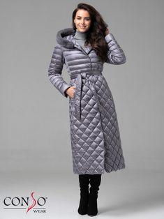 Женское пуховое пальто WLF 180501 amethyst - купить в интернет-магазине Сonsowear️ Coats For Women, Jackets For Women, Ladies Coats, Winter Jackets, Suits, Female, Lady, Fashion, Projects