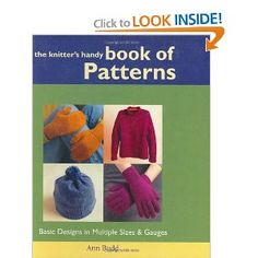 Great book for knitting projects of all sizes